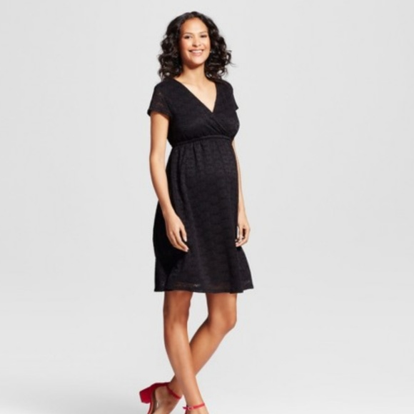 7428960b1a6ee Ingrid & Isabel Dresses | Isabel Maternity Lace Swing Dress | Poshmark